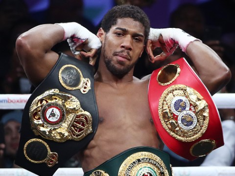 Anthony Joshua has until end of January to agree fight terms with Kubrat Pulev