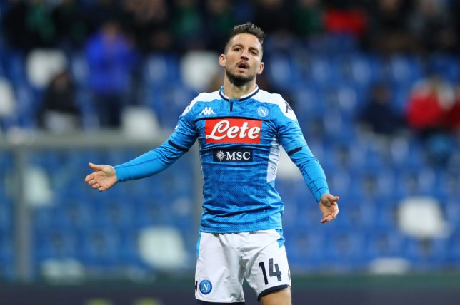 Arsenal and Chelsea have held talks to sign Dries Mertens