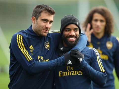 Sokratis Papastathopoulos backs Alexandre Lacazette to step up during Pierre-Emerick Aubameyang's suspension