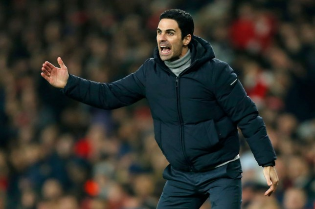 Mikel Arteta enjoyed his first win as Arsenal boss against Manchester United