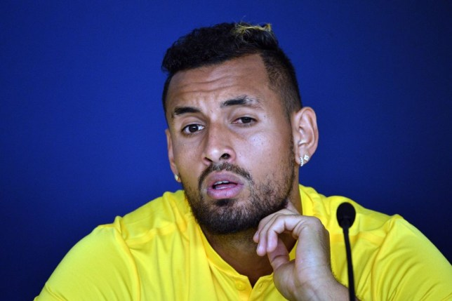 Nick Kyrgios has pledged financial support to the victims of the Australia bushfires