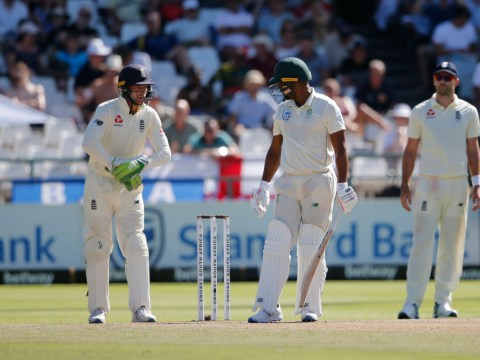 Jos Buttler apologises for swearing at Vernon Philander in England's Test win over South Africa
