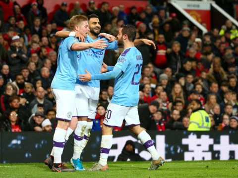 Manchester City outclass Manchester United on embarrassing night for Ole Gunnar Solskjaer