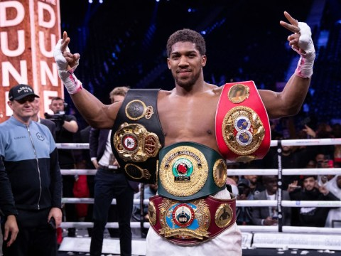 Anthony Joshua unconcerned by giving up world title belts to make the right fights