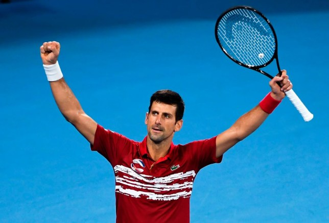 Novak Djokovic inspired Serbia to victory in the ATP Cup