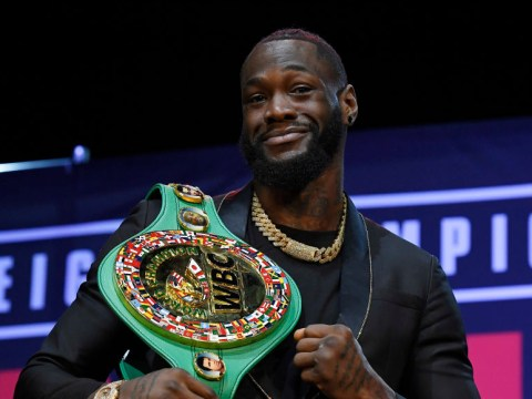 Deontay Wilder responds to 'quiet mouse' Eddie Hearn over 50/50 split offer to fight Anthony Joshua