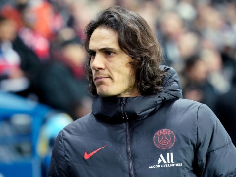 Manchester United fans order club to sign Edinson Cavani after striker hands in transfer request at PSG
