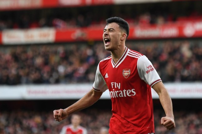 Gabriel Martinelli slid into Arsenal legend Ian Wright's DMs on Instagram for advice