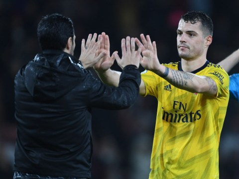 Mikel Arteta explains how he convinced Granit Xhaka to stay at Arsenal
