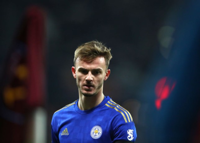 James Maddison has been heavily linked with Manchester United in recent weeks