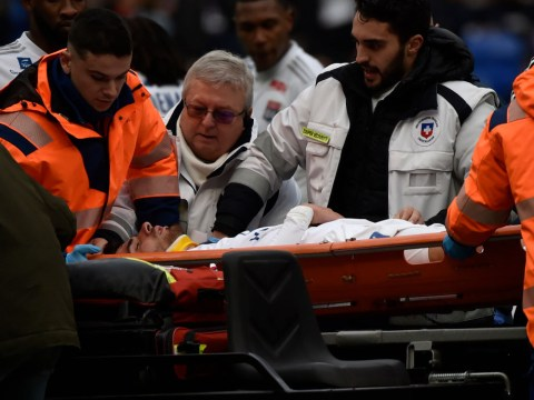 Lyon confirm Martin Terrier has regained consciousness after collapsing on pitch against Toulouse