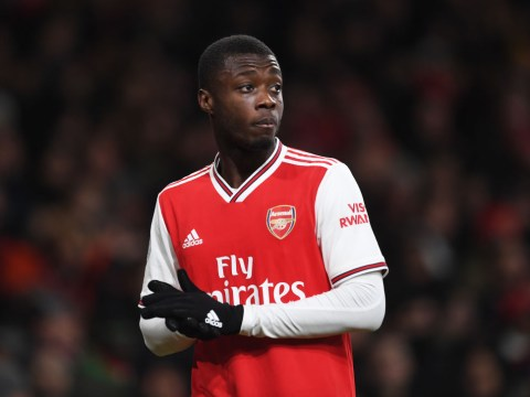 Nicolas Pepe reveals what he told Mikel Arteta before Manchester United win and makes top-four claim