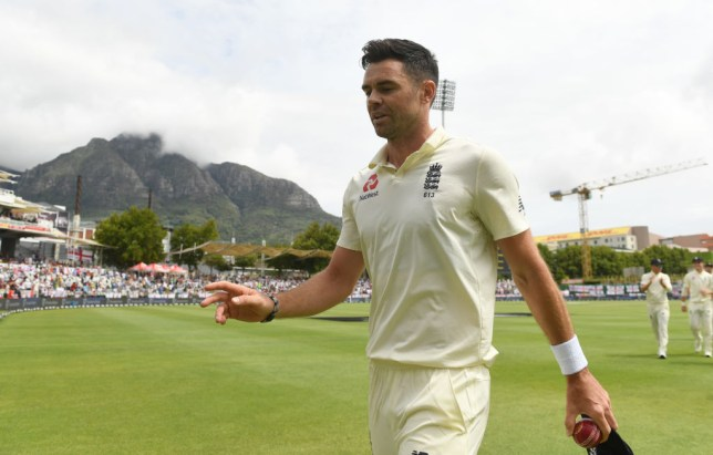 James Anderson helped England bowl South Africa out and take control of the second Test
