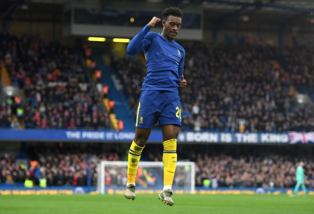 Callum Hudson-Odoi broke the deadlock in Chelsea's 2-0 victory over Nottingham Forest in the FA Cup