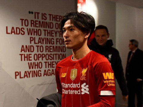 Takumi Minamino delighted to make Liverpool debut in FA Cup win over Everton
