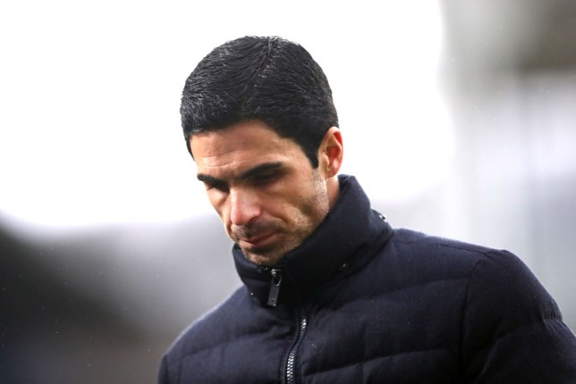 Mikel Arteta was disappointed with Arsenal's defending during their 1-1 draw against Crystal Palace