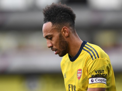 Arsenal captain Pierre-Emerick Aubameyang breaks silence after red card against Crystal Palace