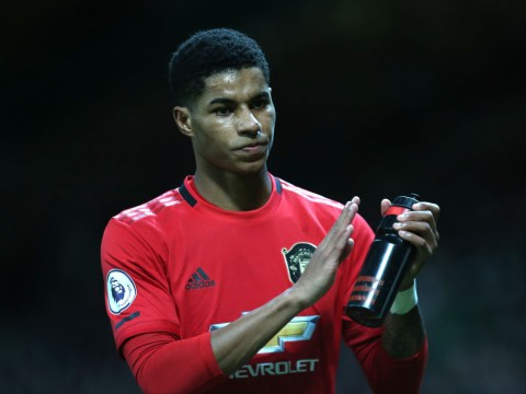 Manchester United boss Ole Gunnar Solskjaer rates Marcus Rashford's chances of facing Wolves