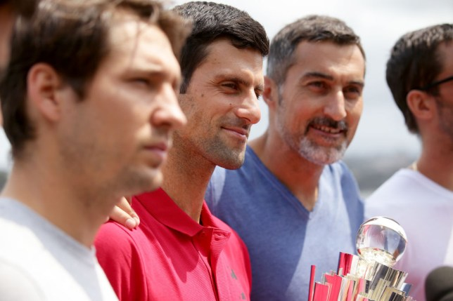 Novak Djokovic has named the three favourites to win the Australian Open