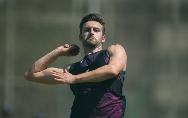 Mark Wood was named as James Anderson's replacement ahead of the third Test against South Africa