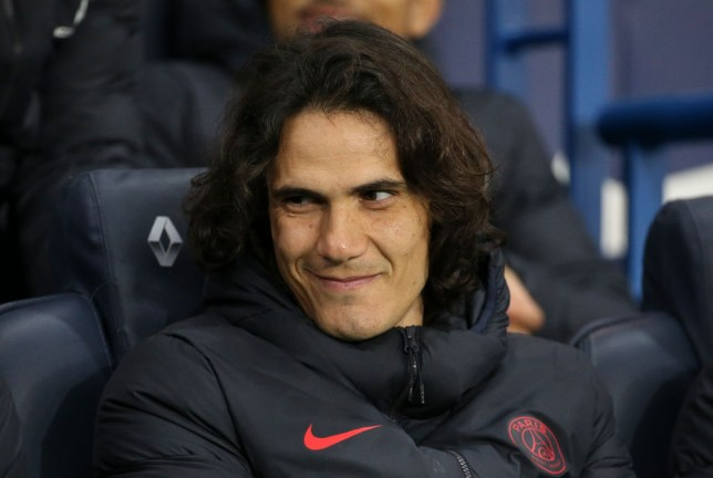 Manchester United will be offered the chance to sign Edinson Cavani from PSG