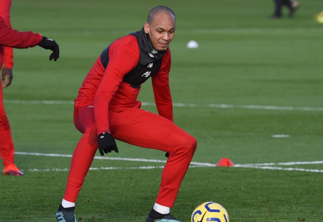 Fabinho is in contention to feature for Liverpool against Manchester United