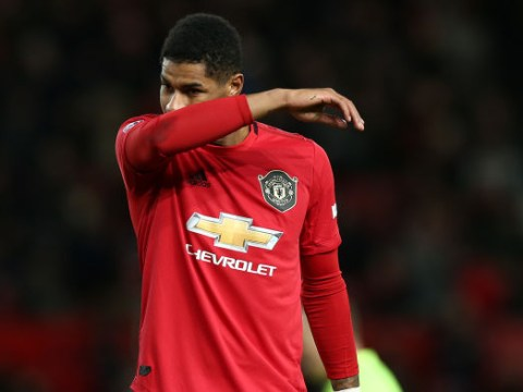 Marcus Rashford makes injury promise to Manchester United fans