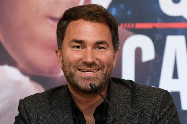 Anthony Joshua promoter Eddie Hearn wants Tyson Fury to beat Deontay Wilder