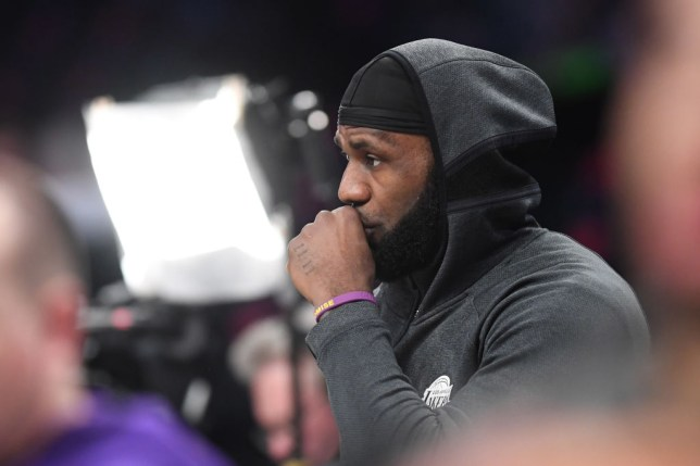LA Lakers star LeBron James