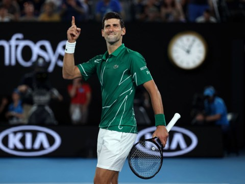 Novak Djokovic pays tribute to injured Roger Federer after reaching Australian Open final