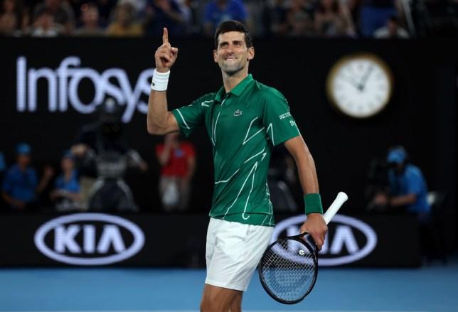 Novak Djokovic pays tribute to injured Roger Federer after reaching Australian Open final