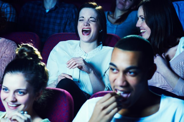 Cinema crowd