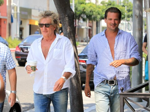 Rod Stewart's son insists alleged victim was 'very aggressive' after star's assault charge