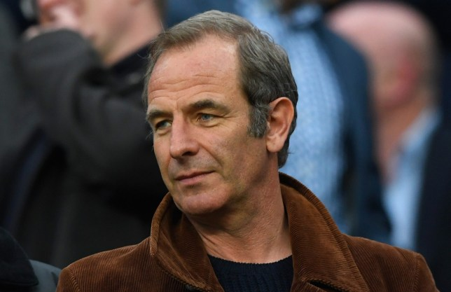Grantchester's Robson Green couldn't wipe his own bum after excruciating injury