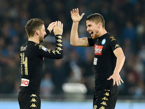 Jorginho fuels rumours Chelsea are set to sign Dries Mertens this January