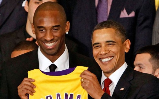 Barack Obama has paid a special tribute to Kobe Bryant who died in a helicopter crash