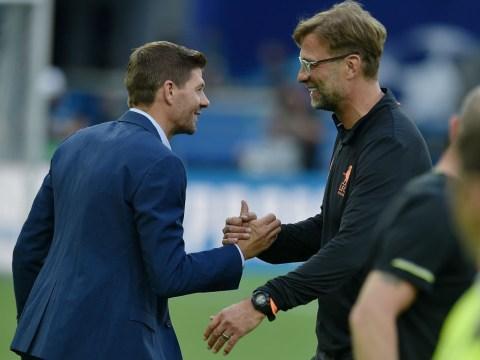 Steven Gerrard reveals what Jurgen Klopp told him when he became Liverpool manager