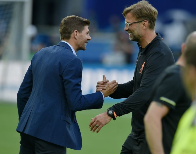 Steven Gerrard says Jurgen Klopp had no doubts he would succeed at Liverpool