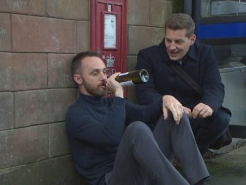 Hollyoaks spoilers: John Paul McQueen saves a broken James Nightingale?
