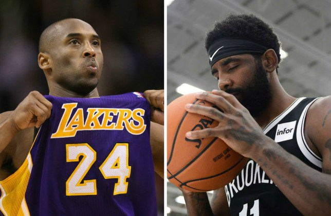 Kobe Bryant and Kyrie Irving
