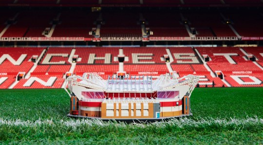 Old Trafford is being made into its own 3,898 piece Lego ...