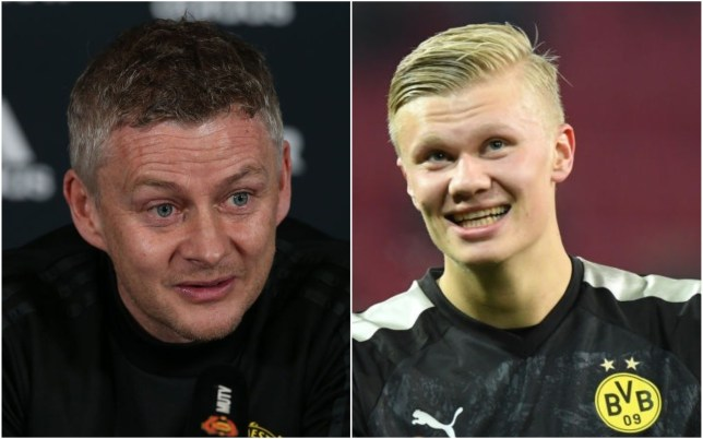 Ole Gunnar Solskjaer wanted to sign Erling Haaland for Manchester United