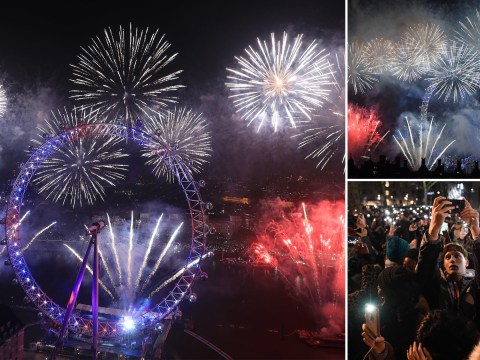 UK sees in 2020 with 'best fireworks London has ever seen'