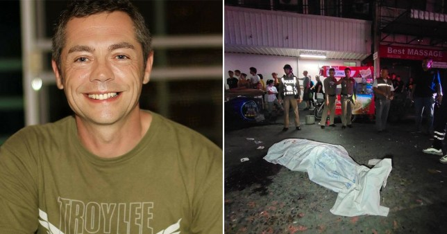 Gary McLaren, 50, who died in Pattaya, Thailand, on New Year's Eve