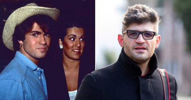 George Michael Melanie Panayiotou and Fadi Fawaz
