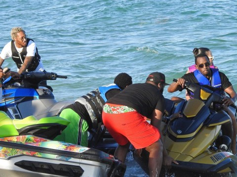 Diddy, DJ Khaled, Future and Meek Mill go jet skiing in Miami Beach – where's our invite?