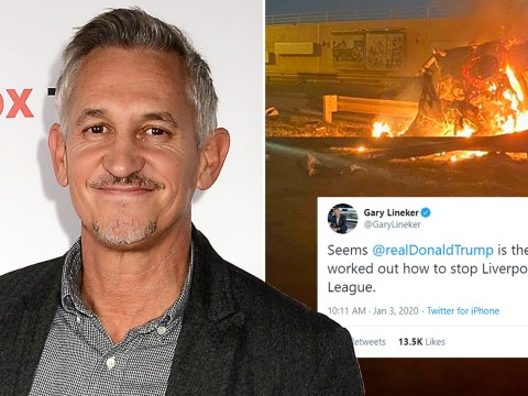 Gary Lineker makes World War III joke about Liverpool after US airstrike