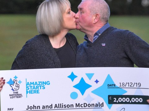 Couple win £2,000,000 three days before son, 15, gets cancer all clear