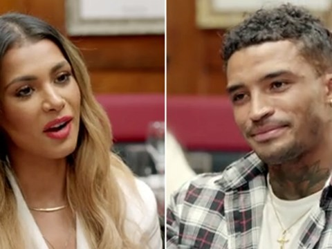 Love Island's Michael Griffiths and Joanna Chimonides finally confront each other over that scandalous split: Behind-the-scenes of Eating With My Ex