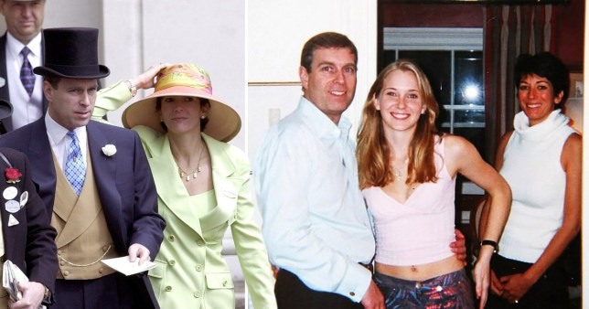 Prince Andrew allegedly  'begged' Ghislaine Maxwell to cover for him' amid the Jeffry Epstein scandal